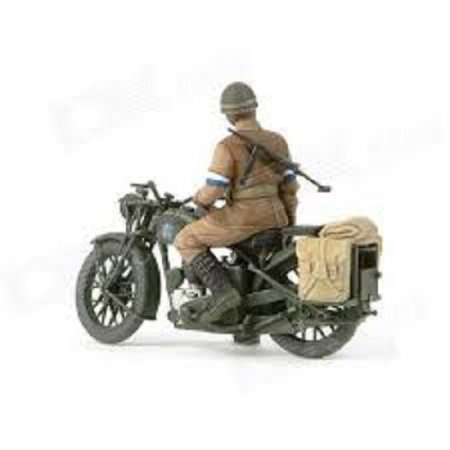 Tamiya British BSA M20 Motorcycle with Military Police Set