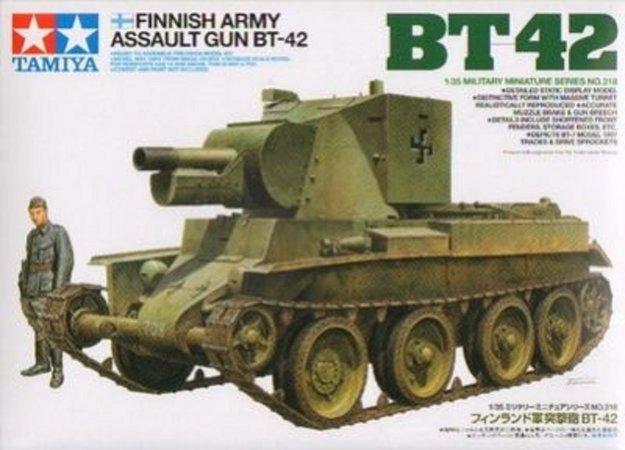 Tamiya Finnish Army Assault Gun BT-42