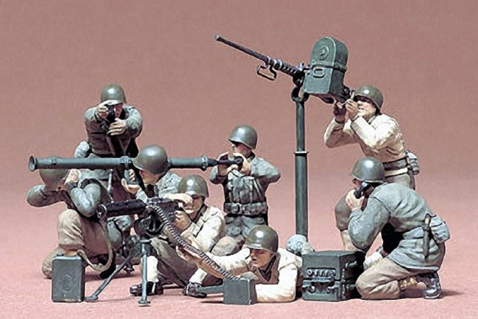 Tamiya U.S. Gun and Mortar Team