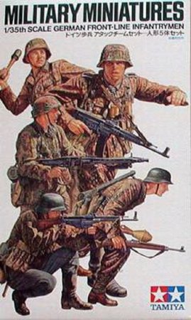 Tamiya German Front-Line Infantrymen