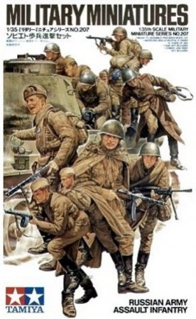 Tamiya Russian Army Assault Infantry