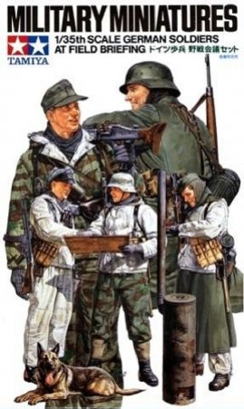 Tamiya German Soldiers at Field Briefing