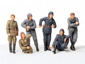 Tamiya Russian Army Tank Crew At Rest