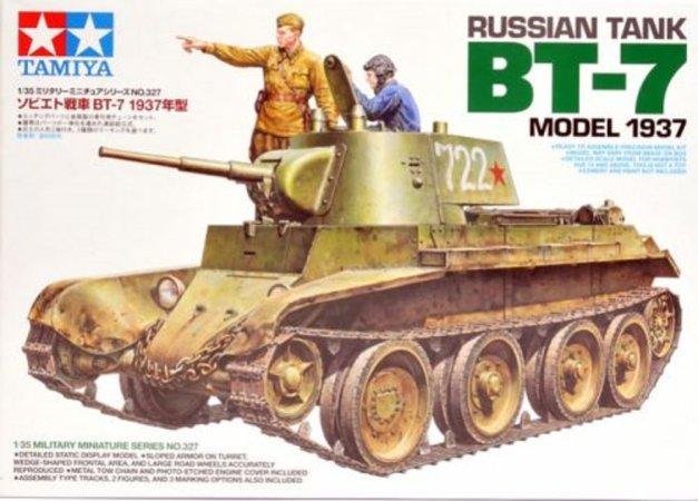 Tamiya Russian Tank BT-7 Model 1937