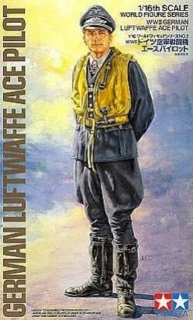 Tamiya WWII German Luftwaffe Ace Pilot