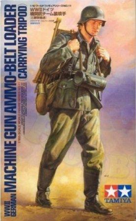 Tamiya WWII German Machine Gun Ammo-Belt Loader (Carrying Tripod)