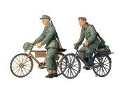 Tamiya German Soldiers With Bicycles