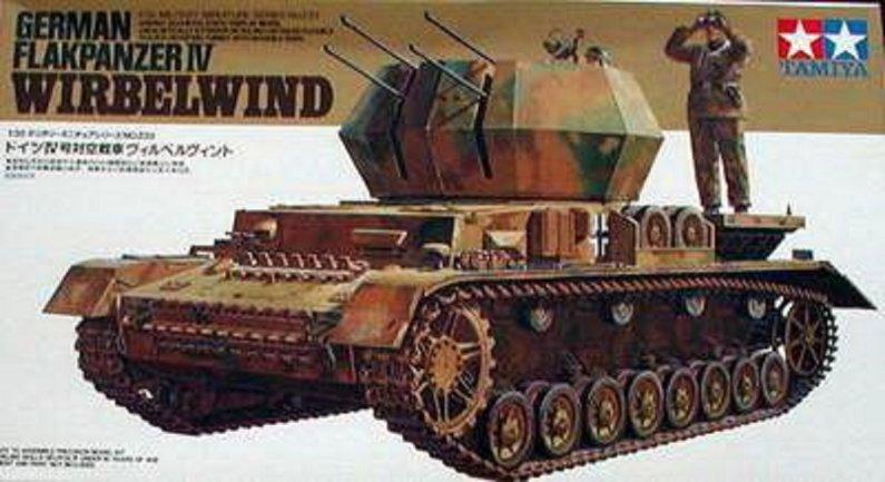 Tamiya German Flakpanzer IV Wirbelwind