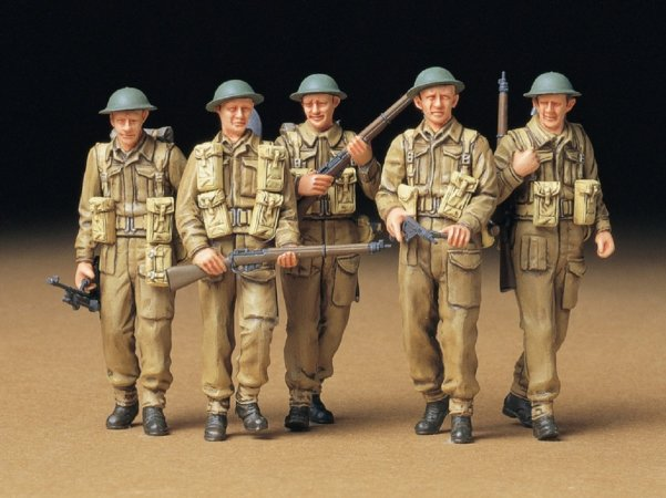 Tamiya British Infantry on Patrol