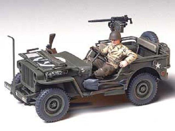 Tamiya Jeep Willys MB 1/4-ton 4x4 truck