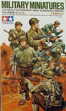 Tamiya U.S. Infantry (Western European Theater)