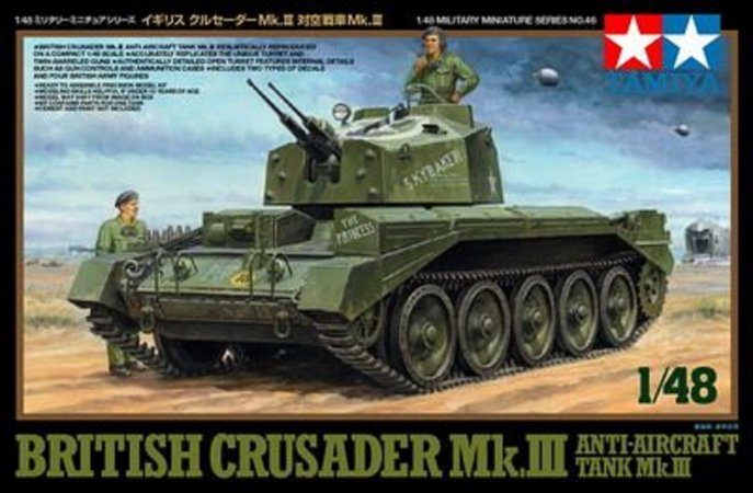Tamiya British Crusader Mk.III  Anti - Aircraft Tank Mk.III