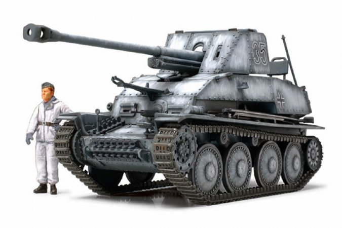 Tamiya German Tank Destroyer Marder III - 1:48
