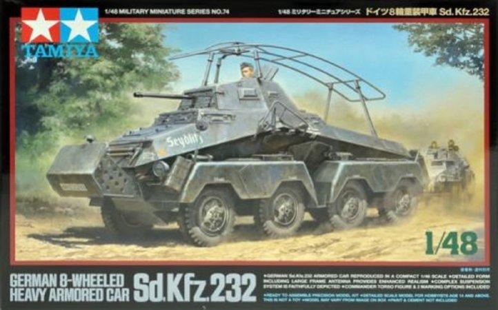 Tamiya German 8-Wheeled Sd.Kfz.232 - Heavy Armored Car