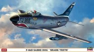 Hasegawa F-86D Sabre Dog Shark Teeth - Limitovaná edice