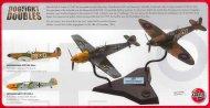 Airfix Spitfire Mk.Ia + Bf109E-4