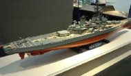 Tamiya US Battleship BB-62 New Jersey w/Detail Up Parts