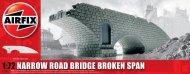 Airfix Narrow Road Bridge - Broken Span