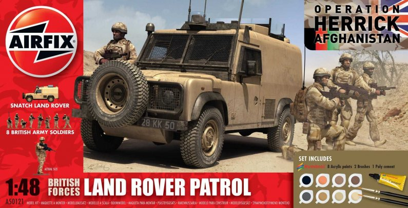 Airfix British Forces - Land Rover Patrol