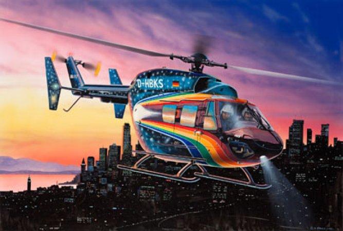 """Revell Plastikový model vrtulníku BK-117 """"Space"""" - Výprodej"""
