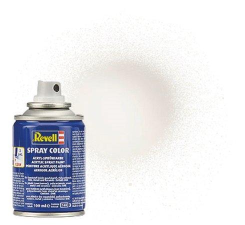 Revell Barva ve spreji akrylová lesklá - Bílá (White) - č. 04