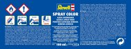 Revell Barva ve spreji akrylová matná - Antracitová šedá (Anthracite grey) - č. 09