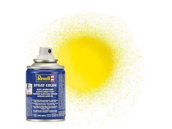 Revell Barva ve spreji akrylová lesklá - Žlutá (Yellow) - č. 12