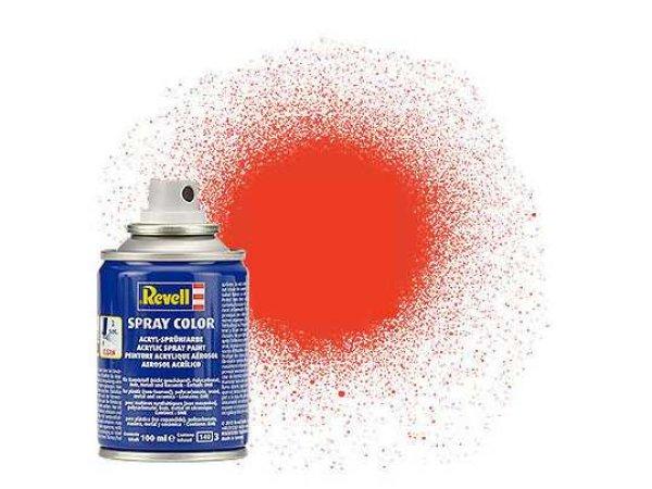 Revell Barva ve spreji akrylová matná - Světle oranžová (Luminous orange) - č. 25