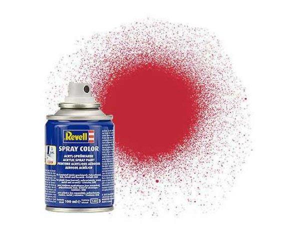 Revell Barva ve spreji akrylová matná - Karmínová (Carmine red) - č. 36