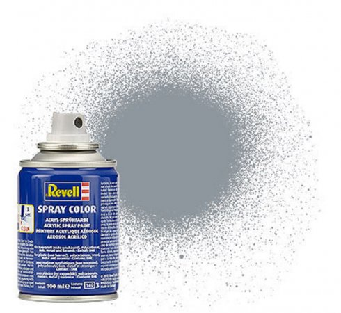 Revell Barva ve spreji akrylová metalická - Ocelová (Steel) - č. 91