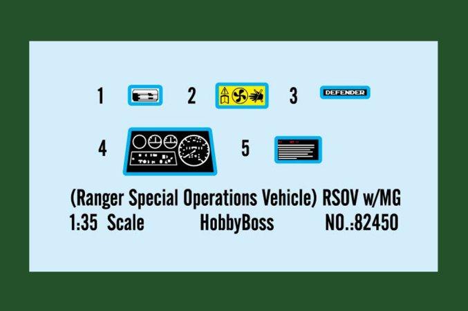 Hobby Boss RSOV w/MG - Výprodej