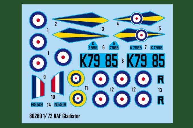 Hobby Boss RAF Gladiator