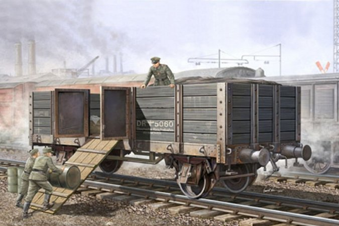 Trumpeter German Railway Gondola - Výprodej