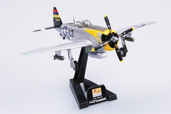 Easy model P-47D-512FS, 406 FG
