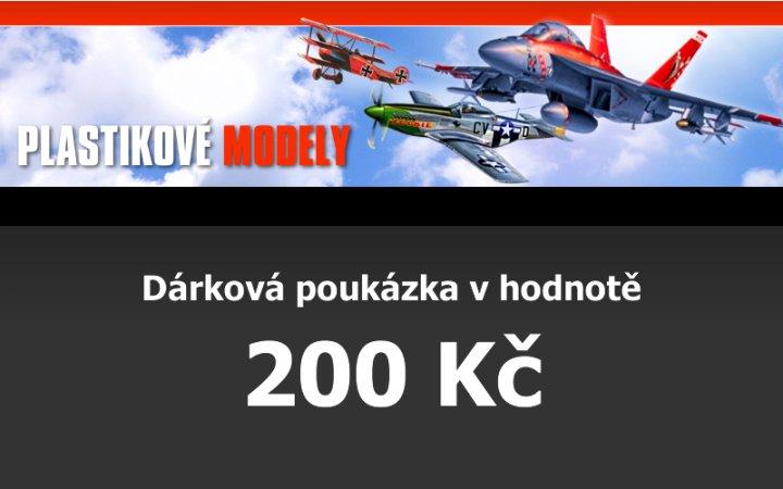 Dárková poukázka 200,- Kč
