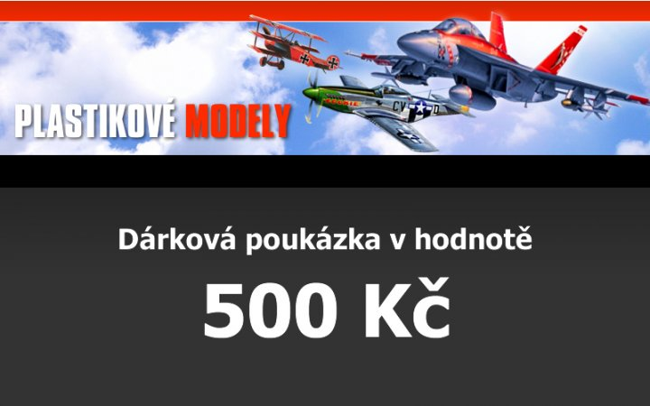 Dárková poukázka 500,- Kč