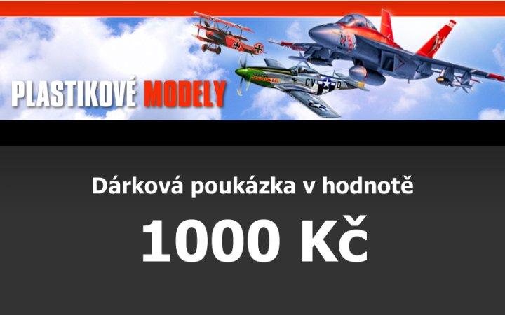 Dárková poukázka 1000,- Kč