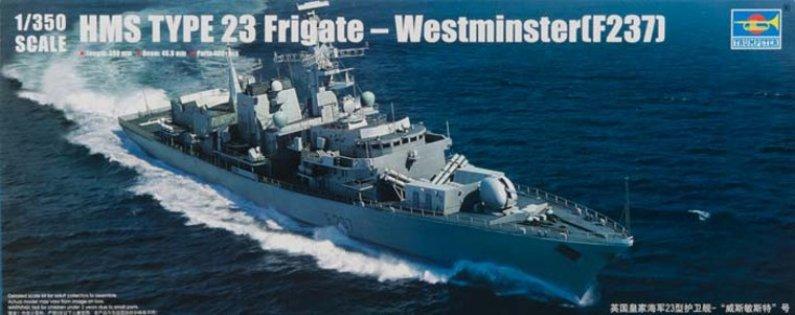 Trumpeter HMS TYPE 23 Frigate – Westminster (F237) - Výprodej