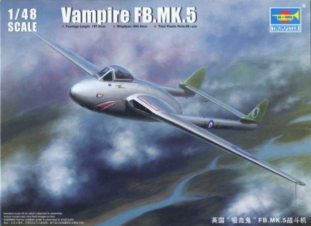 Trumpeter Vampire FB.MK.5 - Výprodej
