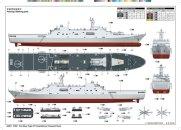 Trumpeter PLA Navy Type 071 Amphibious Transport Dock - Výprodej