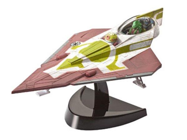 Revell EasyKit - Plastikový model Star Wars Fisto's Jedi Starfighter