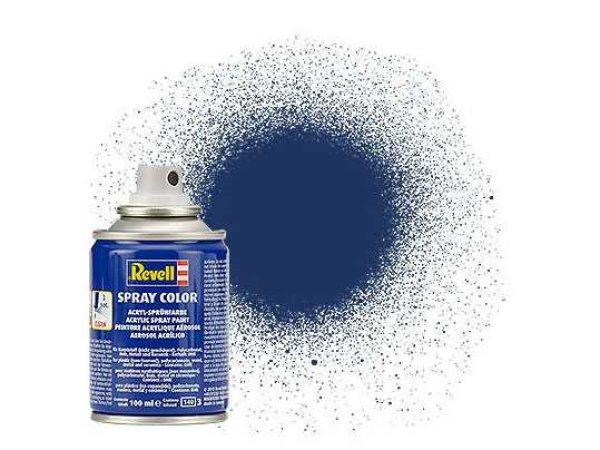 Revell Barva ve spreji akrylová metalická - RBR Modrá (RBR Blue) - č. 200