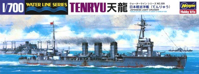 Hasegawa IJN Light Cruiser Tenryu