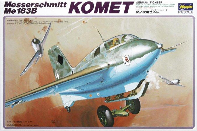 Hasegawa Messerschmitt Me163B Komet
