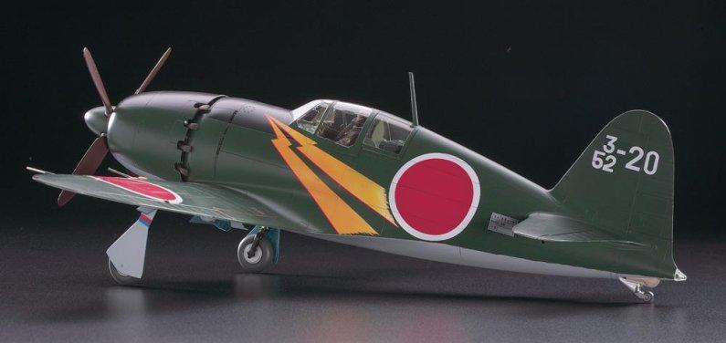 Hasegawa Mitsubishi J2M3 Raiden Jack Type 21