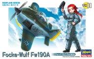 Hasegawa Egg Plane Focke-Wolf Fw-190A - Limitovaná edice