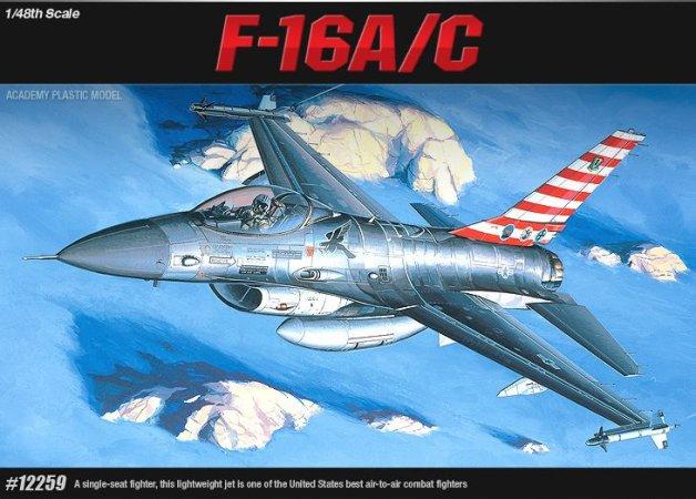 Academy F-16C F. Falcon
