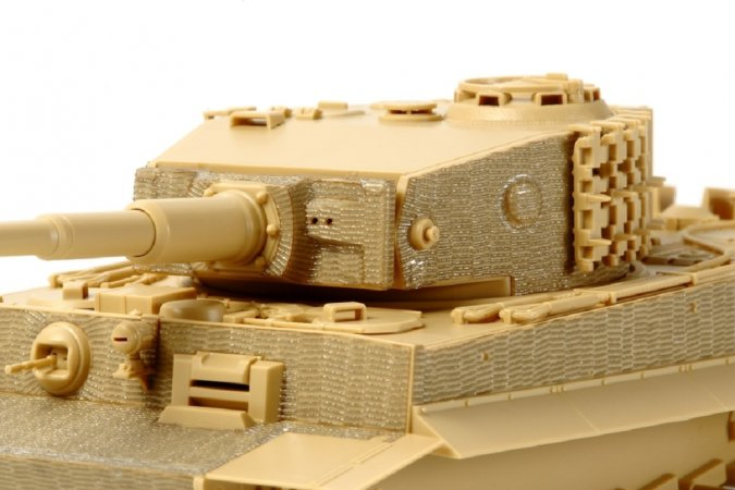 Tamiya Tiger I Mid-late Zimmerit Sheet 1:48