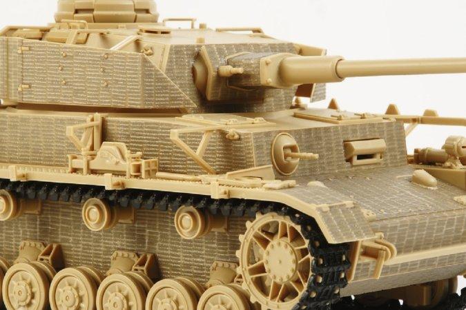 Tamiya Panzer IV Ausf.J Zimmerit Sheet