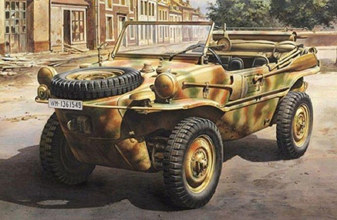 Tamiya Schwimmwagen Type 166 - 1:48